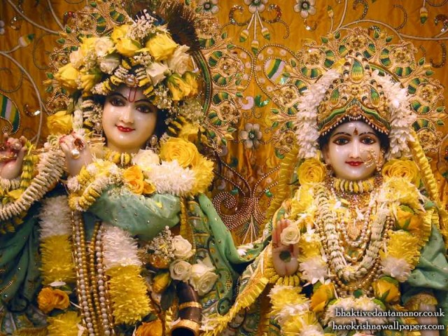 Sri Sri Radha Gokulanand Close up Wallpaper (013)
