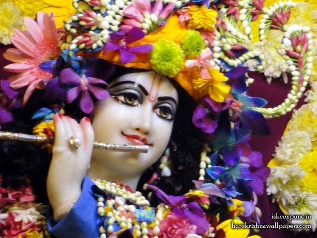 Sri Kunjabihari Close up Wallpaper (002)