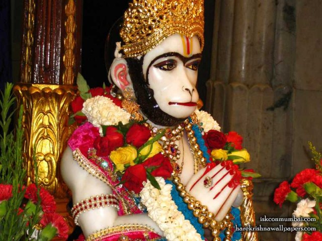 Sri Hanuman Face Wallpaper (003)