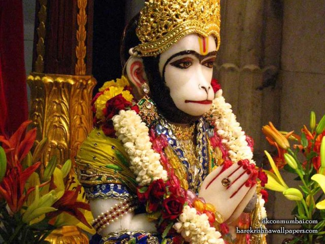 Sri Hanuman Face Wallpaper (005)