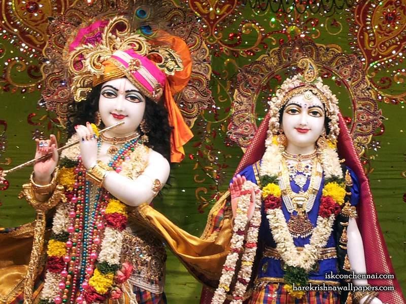 006 Sri Sri Radha Krishna Close up