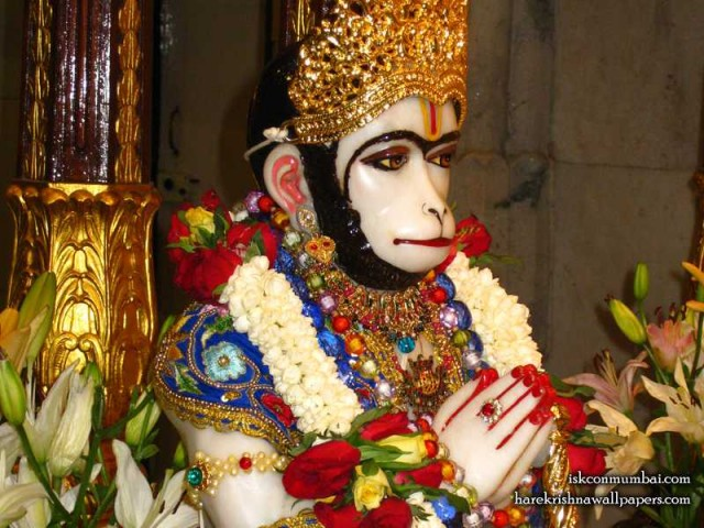 Sri Hanuman Face Wallpaper (009)