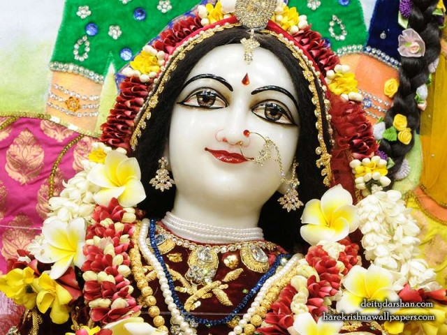 Srimati Radharani Close up Wallpaper (104)