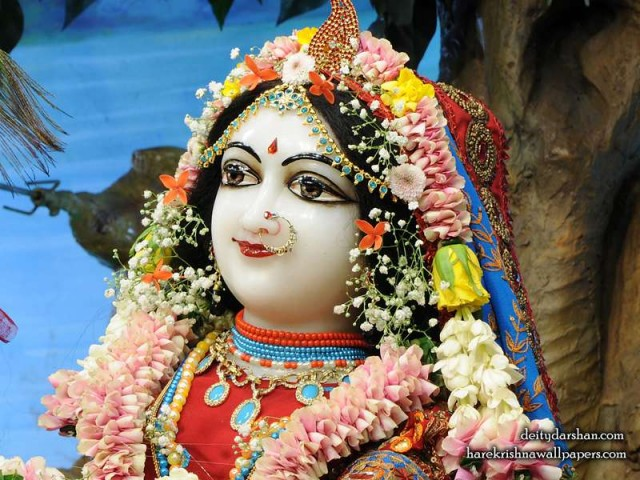 Srimati Radharani Close up Wallpaper (105)