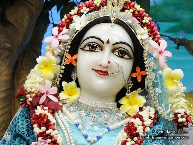 Srimati Radharani Close up Wallpaper (108)