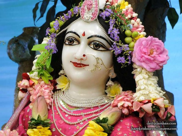 Srimati Radharani Close up Wallpaper (110)