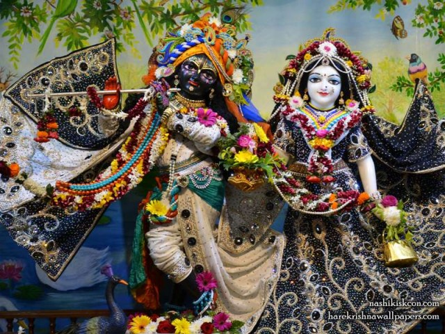 Sri Sri Radha Madan Gopal Wallpaper (012)