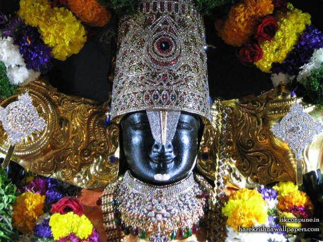 Sri Balaji Close up Wallpaper (004)