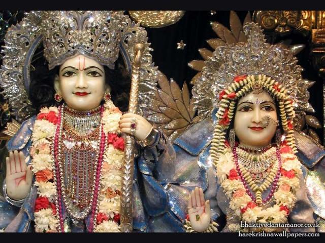 Sri Sri Sita Rama Close up Wallpaper (001)