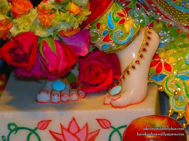 Sri Krishna Feet Wallpaper (004)