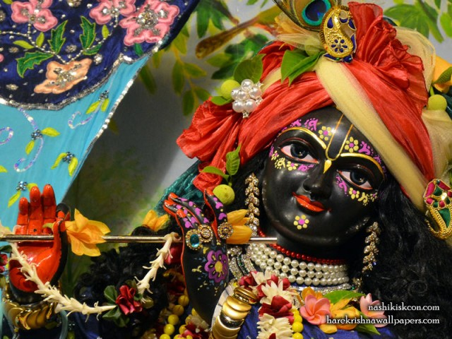 Sri Madan Gopal Close up Wallpaper (004)