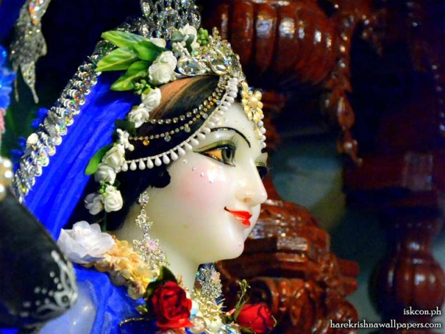 Sri Radha Close up Wallpaper (003)