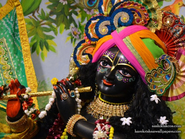 Sri Madan Gopal Close up Wallpaper (002)