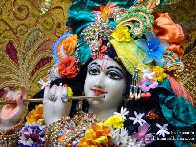 Sri Kunjabihari Close up Wallpaper (008)