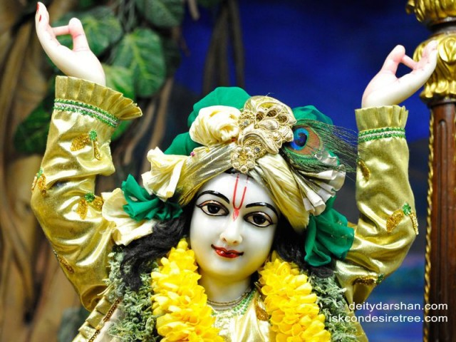 Sri Gaurachandra Close up Wallpaper (027)