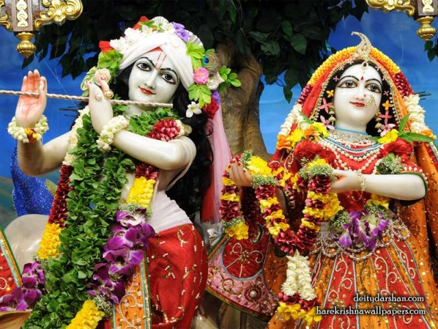 Sri Sri Radha Gopinath Close up Wallpaper (056)