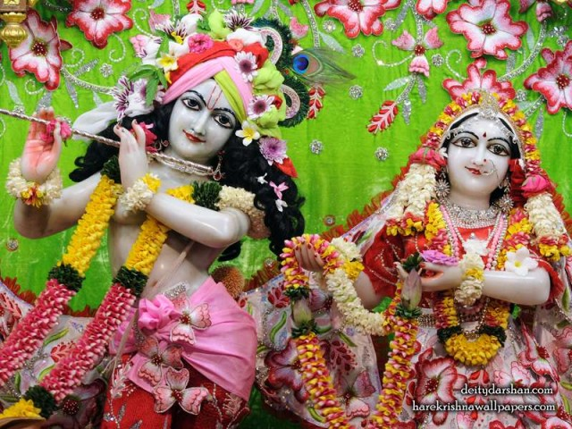 Sri Sri Radha Gopinath Close up Wallpaper (064)