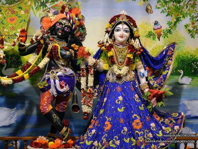 Sri Sri Radha Madan Gopal Wallpaper (010)