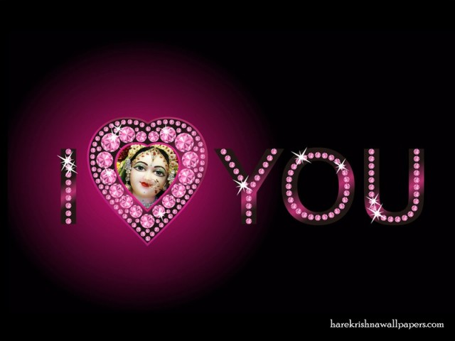 I Love You Radharani Wallpaper (015)