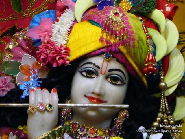 Sri Kunjabihari Close up Wallpaper (011)