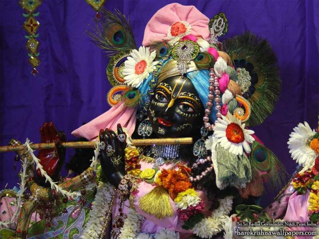 Sri Govind Close up Wallpaper (014)