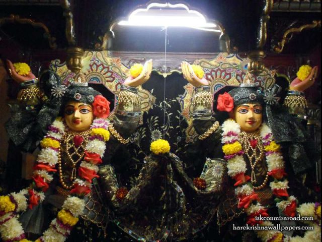Sri Sri Gaura Nitai Close up Wallpaper (001)