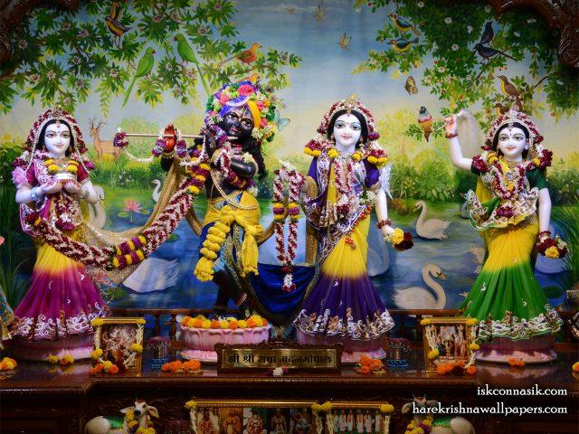 Sri Sri Radha Madan Gopal Lalita Vishakha Wallpaper (001) Size 1280×1024 Download