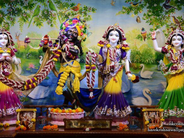 Sri Sri Radha Madan Gopal Lalita Vishakha Wallpaper (001) Size 1280×800 Download