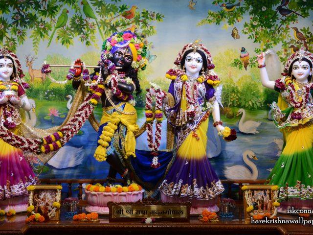 Sri Sri Radha Madan Gopal Lalita Vishakha Wallpaper (001) Size 1440×900 Download