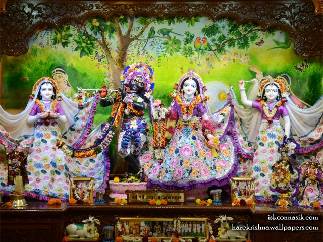 Sri Sri Radha Madan Gopal Lalita Vishakha Wallpaper (003) Size 1280×1024 Download