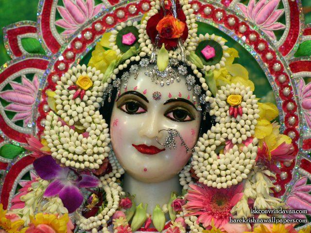 Sri Radha Close up Wallpaper (005) Size 1920×1440 Download