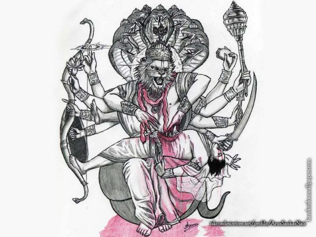 Sri Narasimha Deva Wallpaper (006)