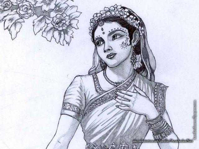 Srimati Radharani Wallpaper (006)