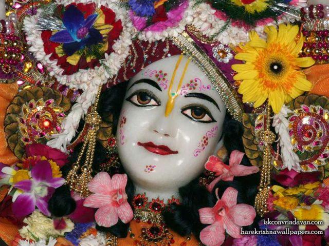 Sri Gaura Close up Wallpaper (007)