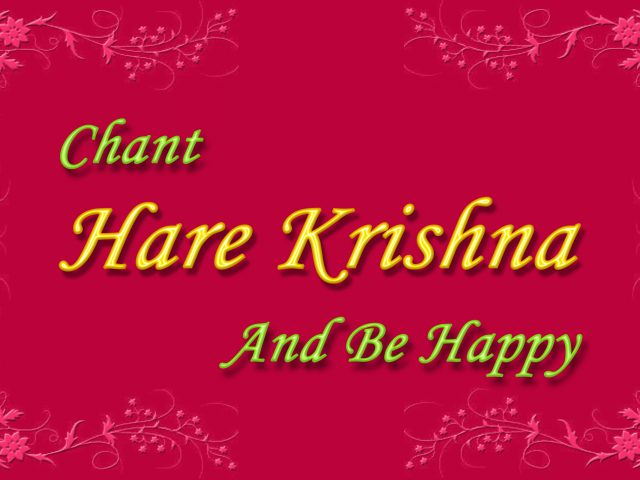Chant Hare Krishna and be happy Wallpaper (008) Size 2560×1600 Download