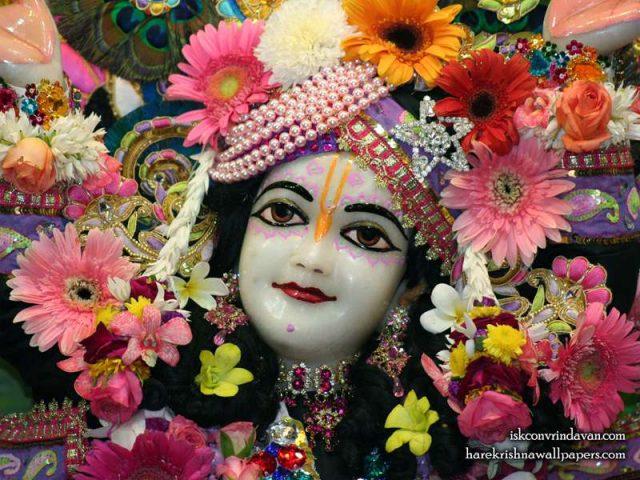 Sri Gaura Close up Wallpaper (009)