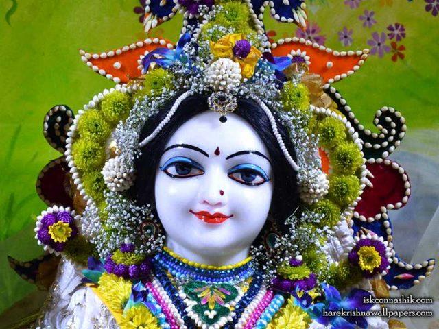 Sri Radha Close up Wallpaper (009)