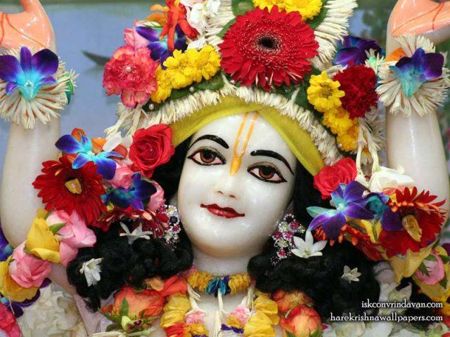 Sri Gaura Close up Wallpaper (011)