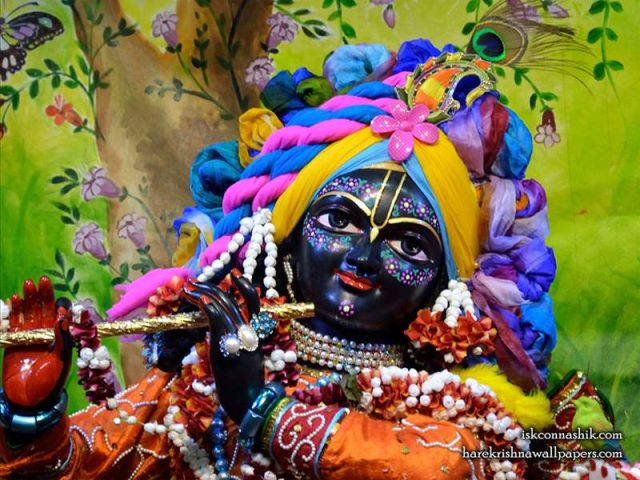 Sri Madan Gopal Close up Wallpaper (011)