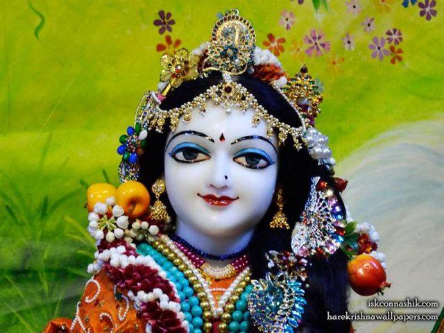 Sri Radha Close up Wallpaper (012)