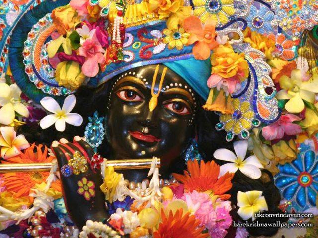 Sri Shyamsundar Close up Wallpaper (013)