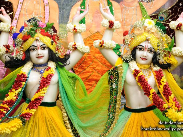 Sri Sri Nitai Gaurachandra Close up Wallpaper (020) Size 2560×1600 Download