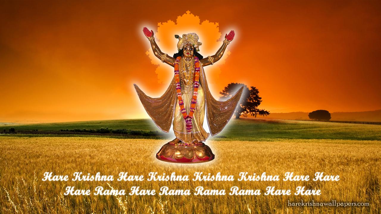 Chaitanya Mahaprabhu Wallpaper (002) Size 1280x720 Download