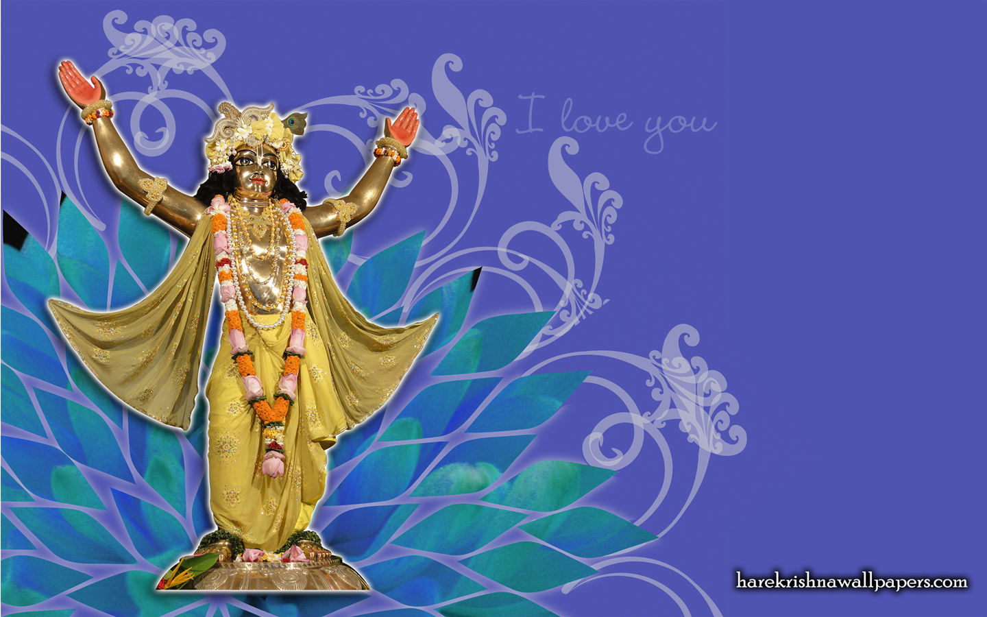 Chaitanya Mahaprabhu Wallpaper (004) Size 1440x900 Download