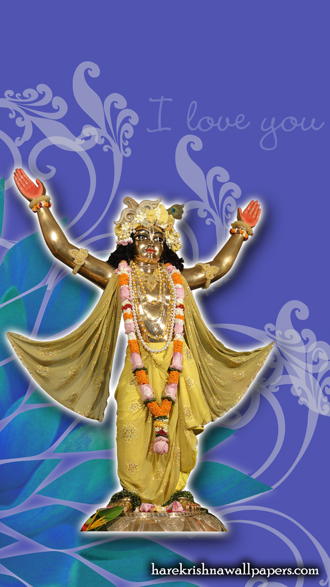 Chaitanya Mahaprabhu Wallpaper (004) Size 675x1200 Download