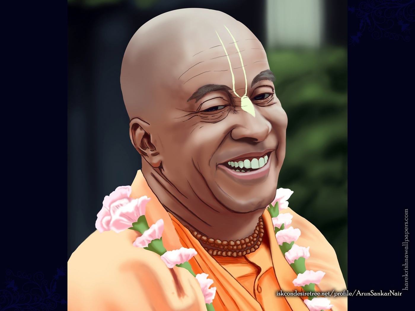 His Holiness Devamrita Swami Wallpaper (002) Size 1400x1050 Download
