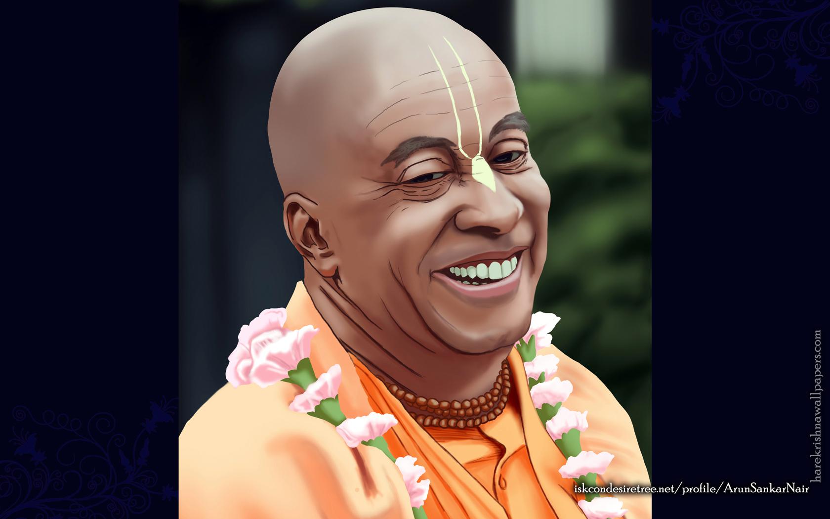 His Holiness Devamrita Swami Wallpaper (002) Size 1680x1050 Download