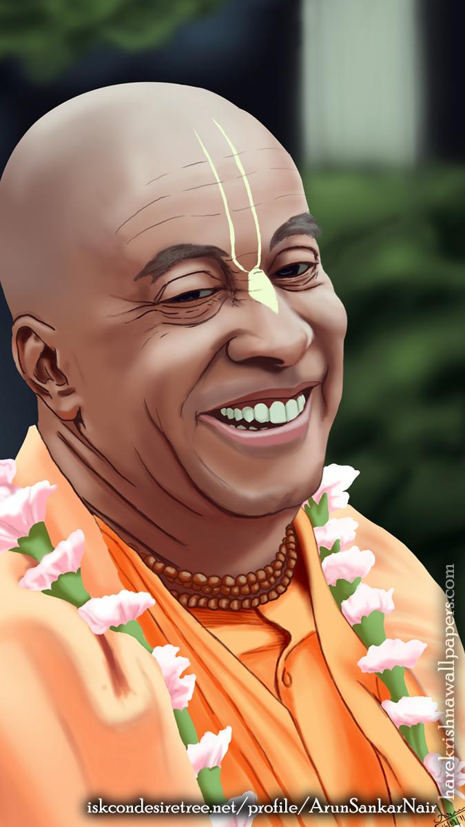 His Holiness Devamrita Swami Wallpaper (002) Size 675x1200 Download