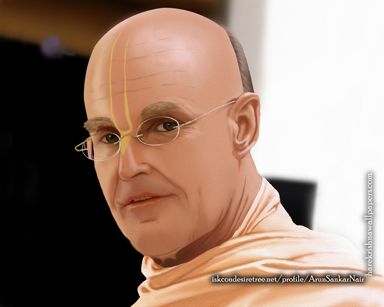 His Holiness Indradyumna Swami Wallpaper (003) Size 1280x1024 Download