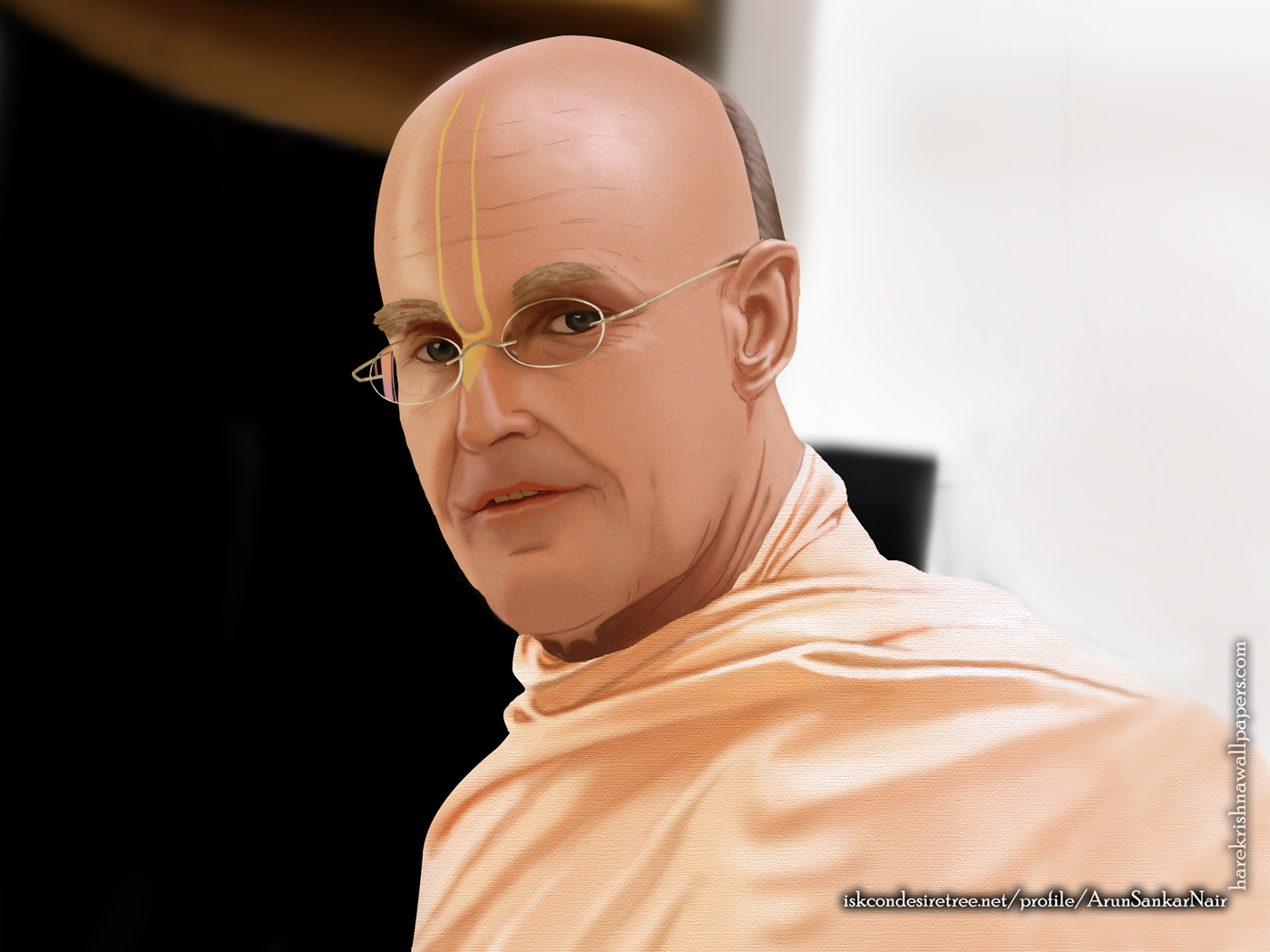 His Holiness Indradyumna Swami Wallpaper (003) Size 1400x1050 Download